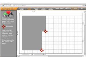 Complex tile area calculator